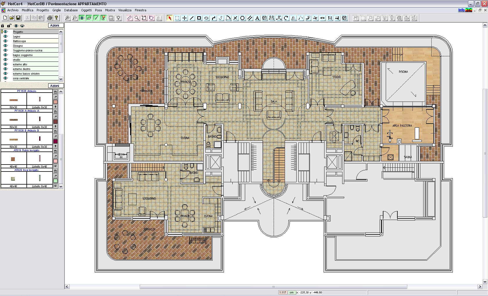 Cavalli software hotcer per la progettazione di schemi for Software di progettazione domestica personalizzato